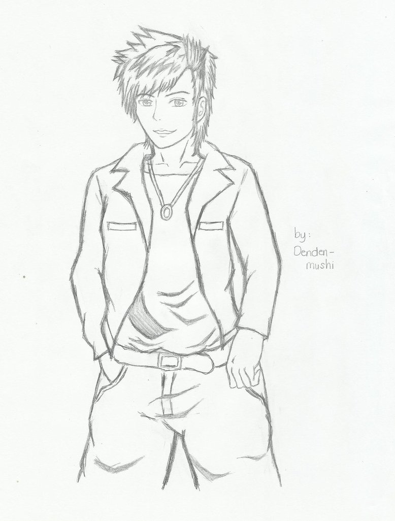 778x1026 My Anime Boy By Denden Mushi