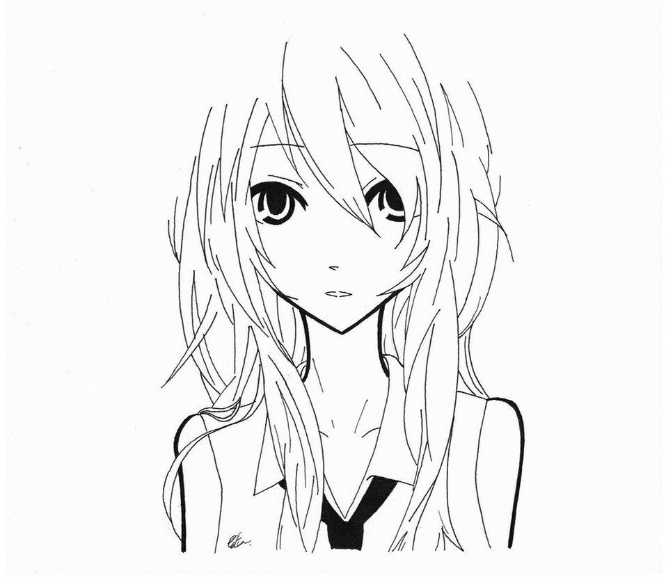 957x834 Random Anime Girl By Azdaroth