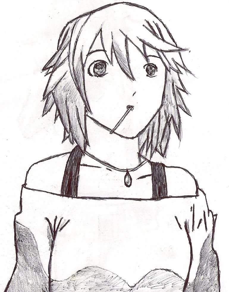 770x982 The Drawings I Did During My Anime Phase (About 5 Years Ago
