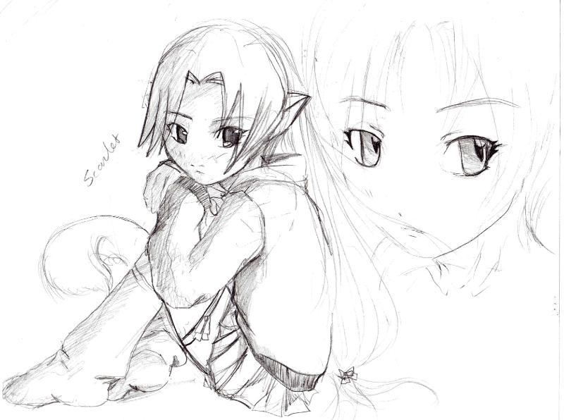 800x596 My Drawings By Punk Anime Art Gurl