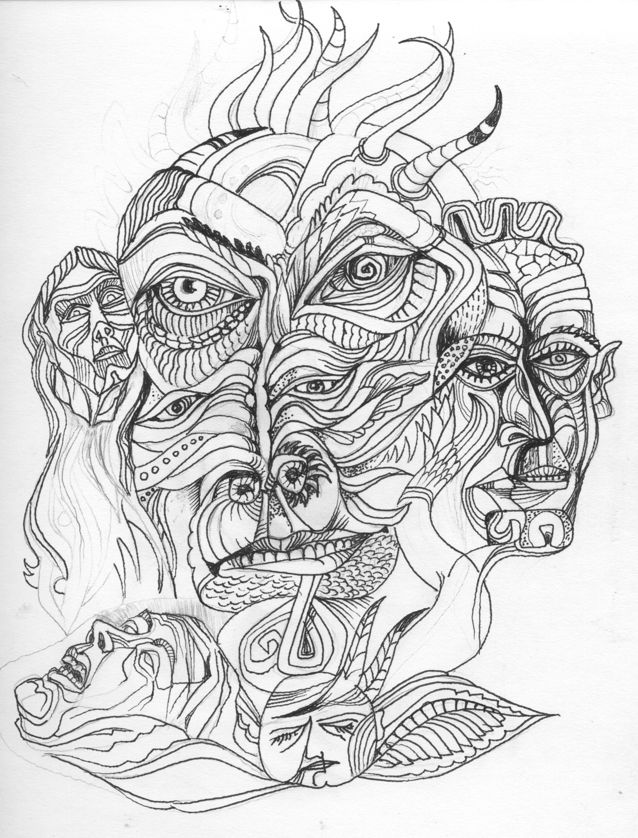 1246x1635 Drawing Brad Jeske Art Learning To Draw On The Imagination