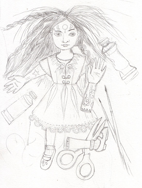 550x725 All My Drawings Masha