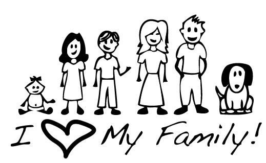 519x319 My Family Miss. R's 2nd Grade Class