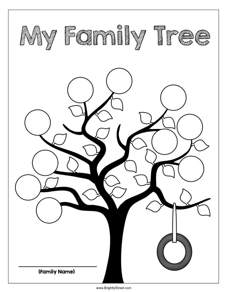 791x1024 My Family Tree Printable