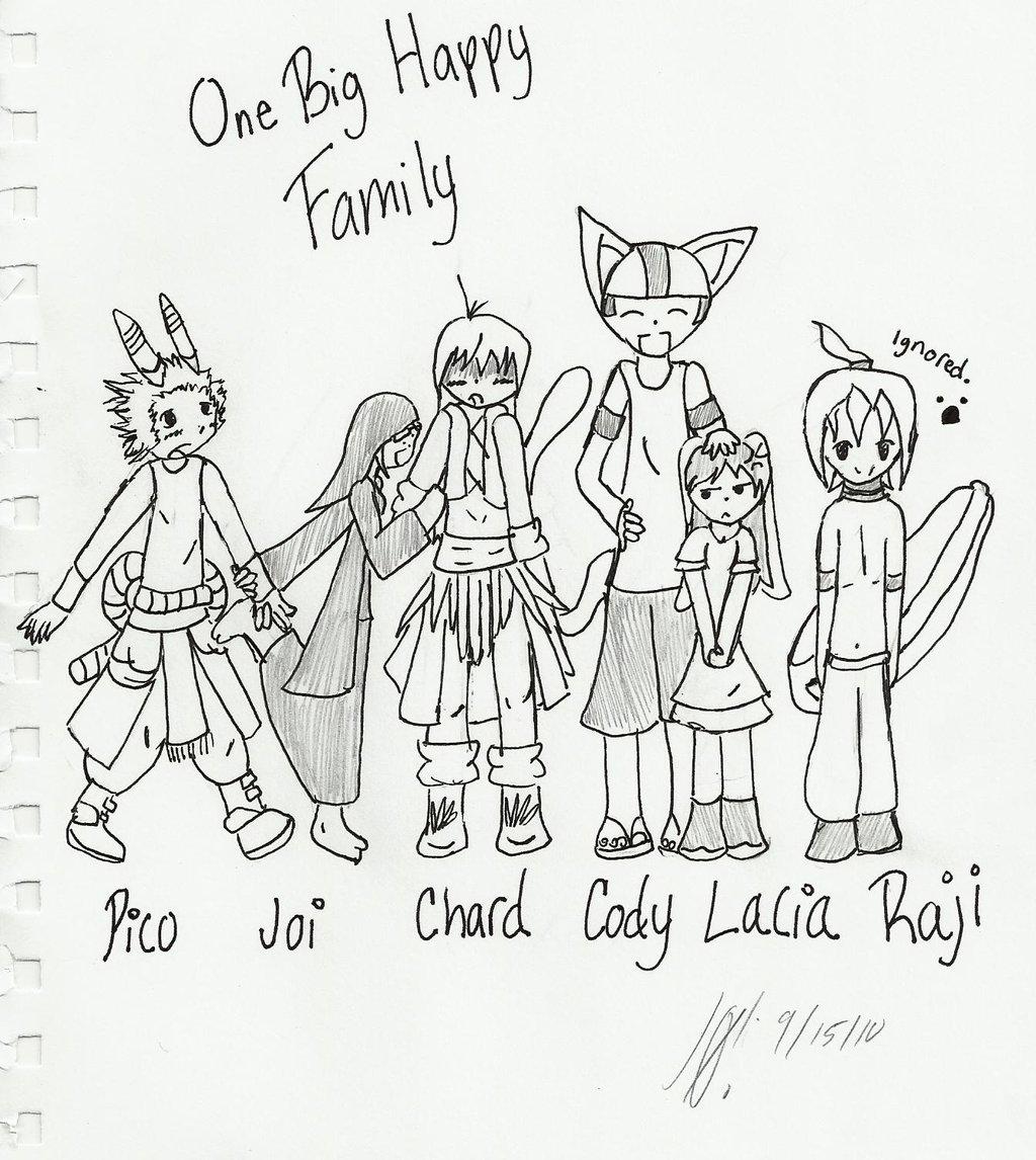1024x1146 One Big Happy Family By MMJoiXLink On DeviantArt