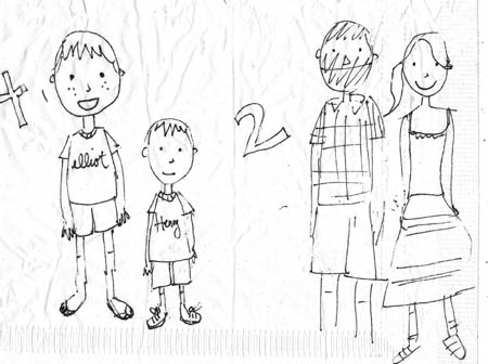 450x336 Family Drawings By My Best Friend Teachable Moments