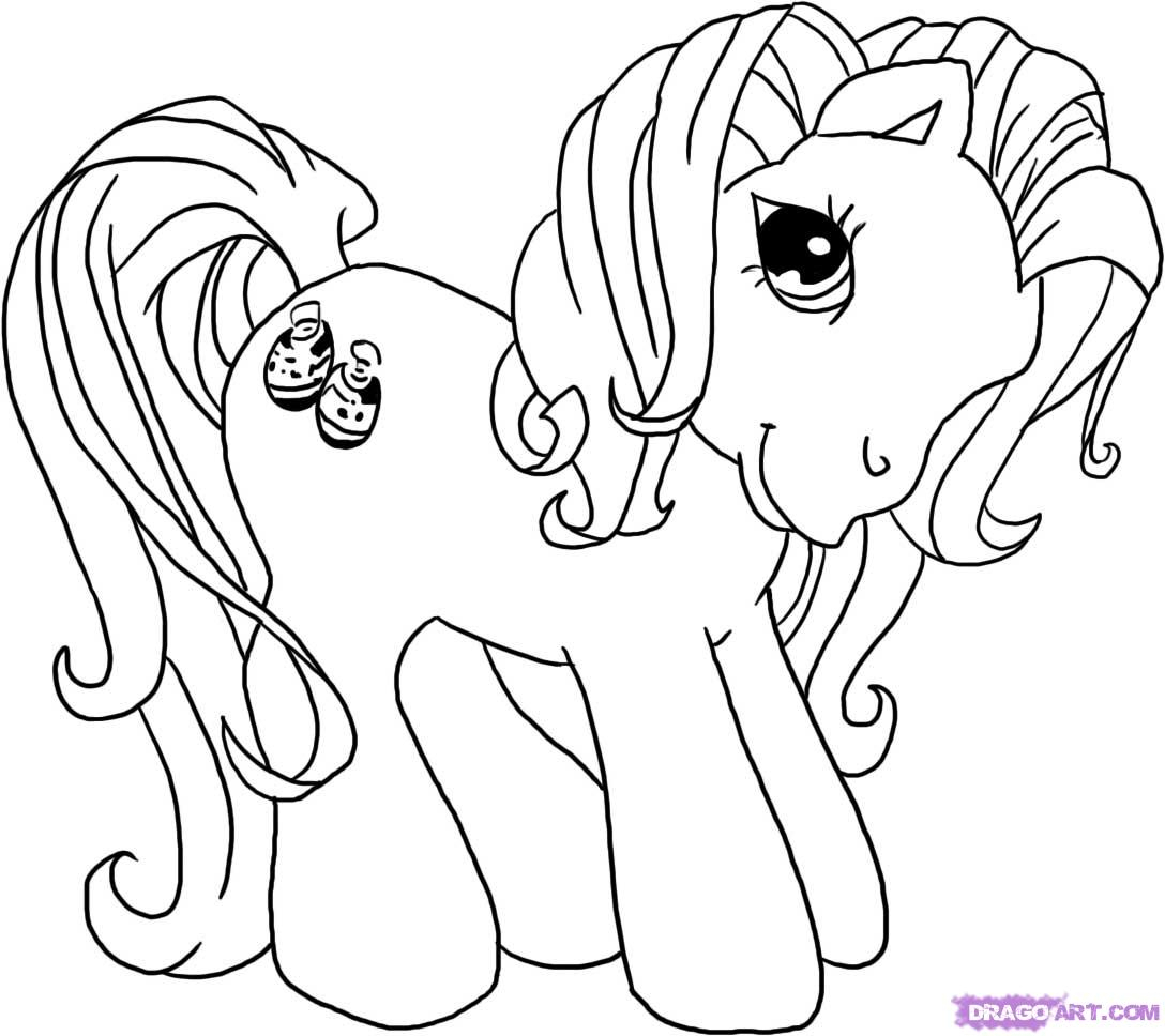 1088x968 My Little Pony Drawing Pictures How To Draw My Little Pony, Step
