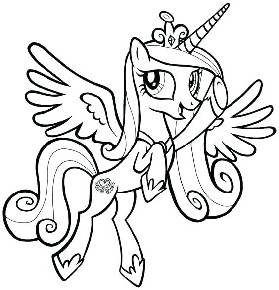 564x586 Coloring Pages Of Ponies Pony My Little Pony Pinkie Pie Coloring