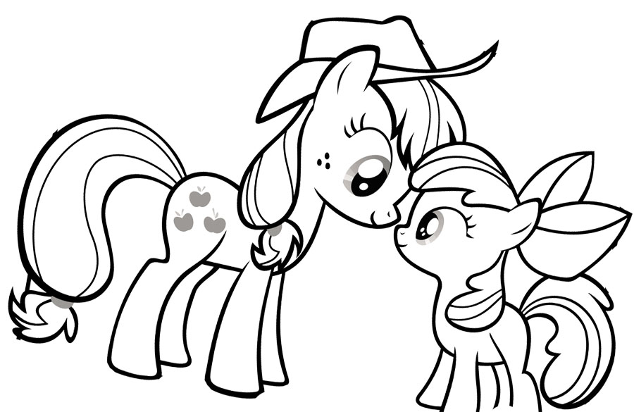 My Little Pony Drawing at GetDrawings.com   Free for personal use My ...