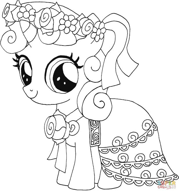 617x662 Coloring Pages My Little Pony Drawing Board Weekly