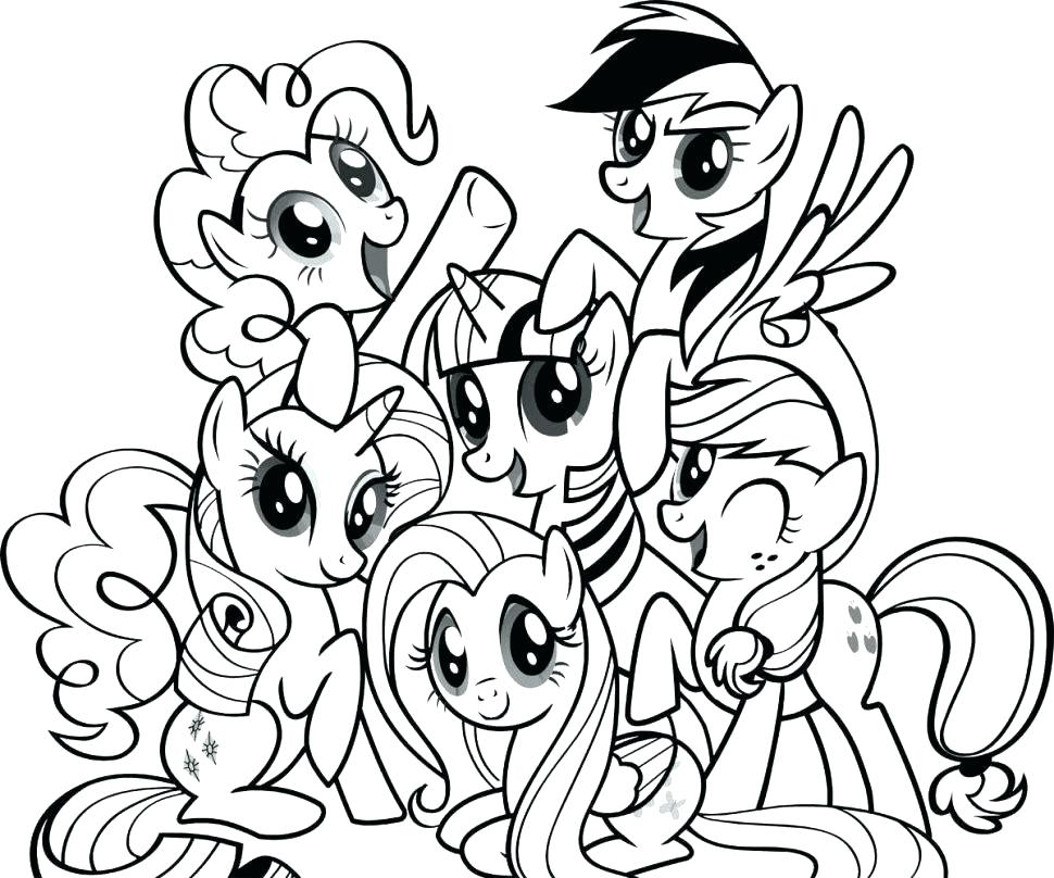 970x808 My Little Pony Coloring Book Games As Well As My Little Pony