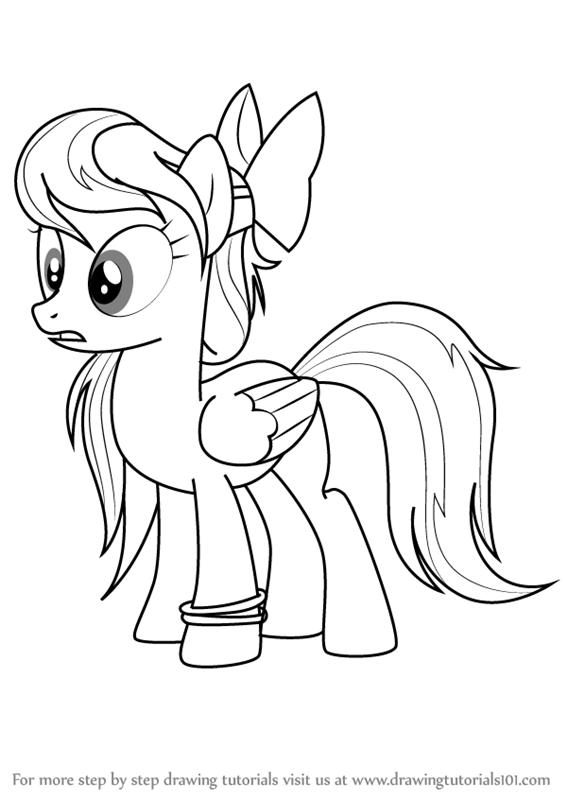 567x800 Learn How To Draw Angel Wings From My Little Pony