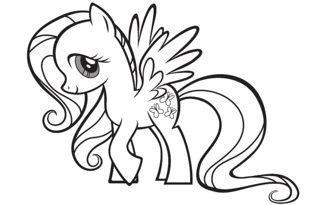 1080x679 My Little Pony Coloring Pages For Kids Coloring Pages For Kids