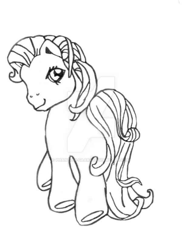 600x758 My Little Pony Line Art 1 By Phantom Gaara