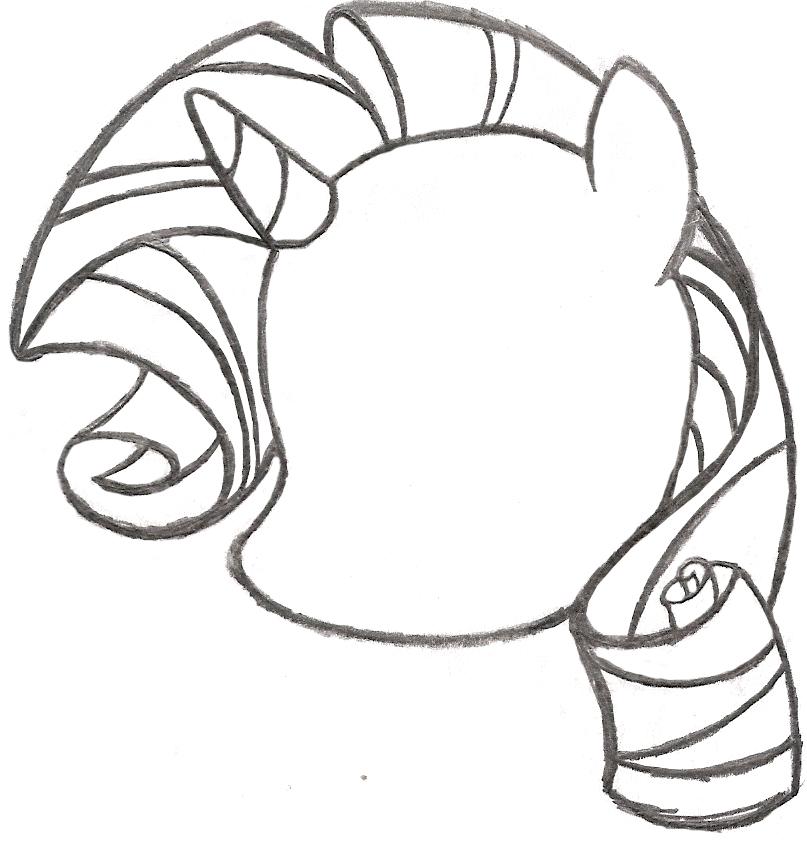 807x842 My Little Pony Sketch