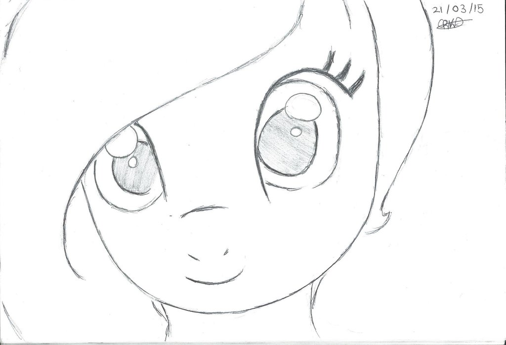 1024x698 My Little Pony Oc, Not Coloured By Silver Shadow7