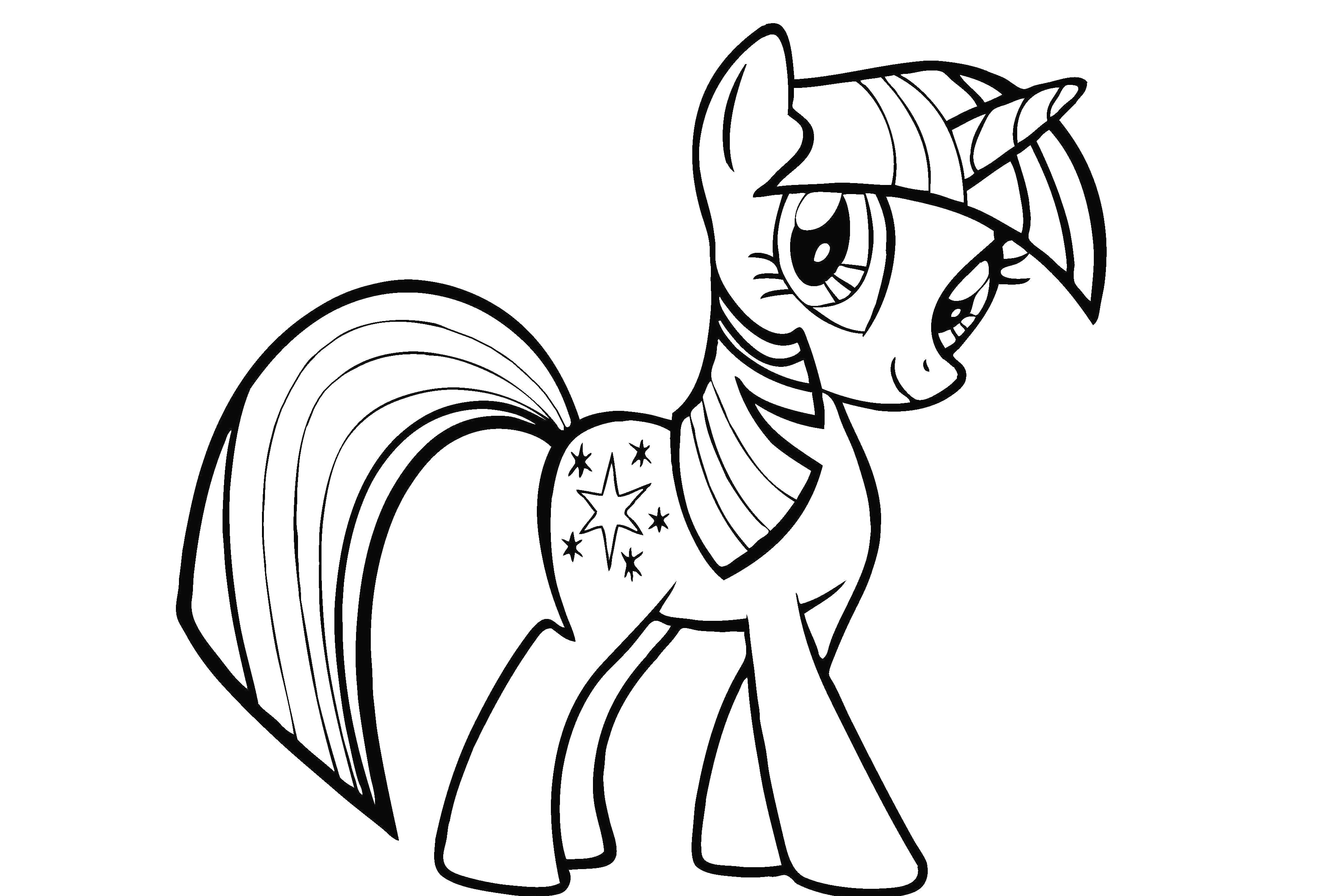 3508x2364 Printable 16 My Little Pony Coloring Pages Twilight Sparkle 3155