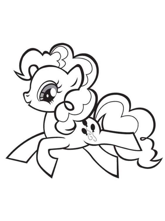 564x752 Unique My Little Pony Coloring Pages Pinkie Pie 60 For Model