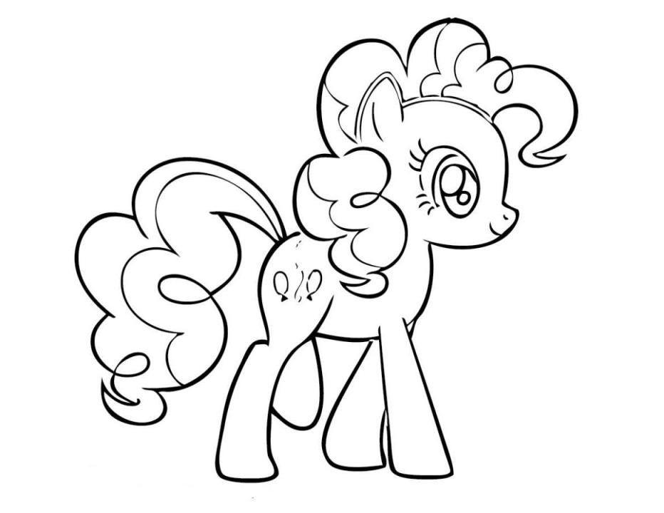 932x720 Pinkie Pie Coloring Page Fresh My Little Pony