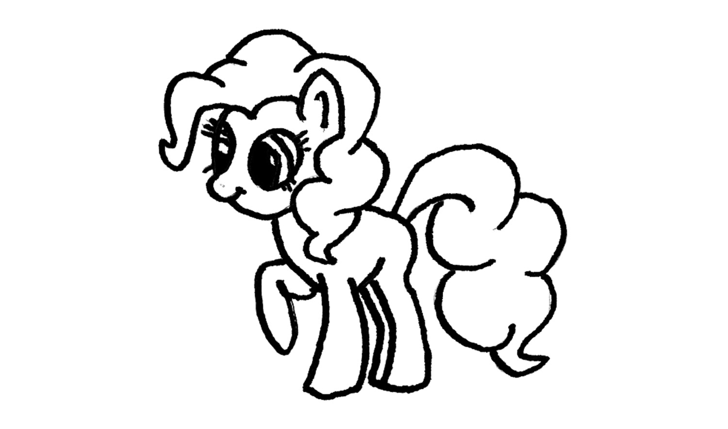 Ausmalbilder My Little Pony Tempest : My Little Pony Drawing Pinkie Pie At Getdrawings Com Free For