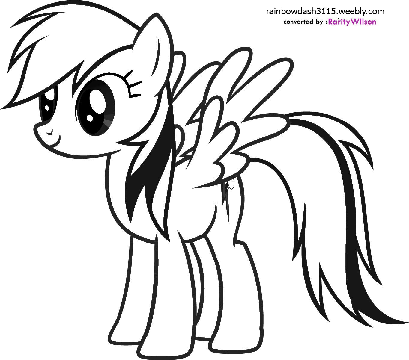 1364x1202 beautiful rainbow dash coloring page images about my little pony