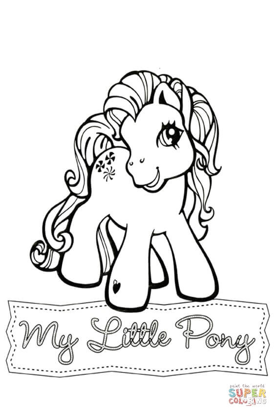 My Little Pony Drawing Template at GetDrawings.com   Free for ...