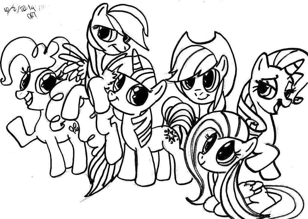 1024x729 My Little Pony Friendship Is Magic Copy By Darylt