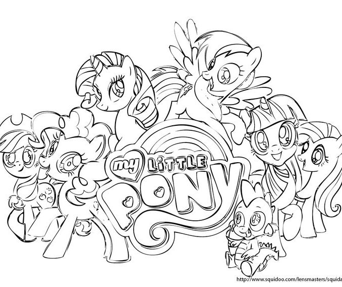 my little pony friendship is magic drawing at getdrawings com free