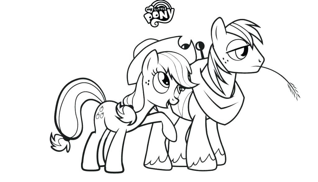 1024x586 My Little Pony Friendship Is Magic Printable Coloring Pages