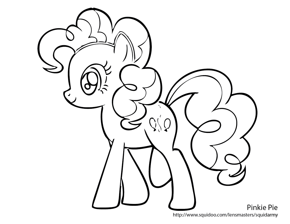1200x927 My Little Pony Pinkie Pie Coloring Pages