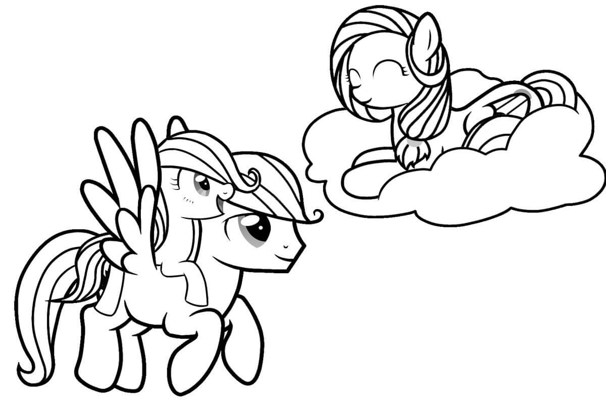 1200x800 Printable My Little Pony Friendship Is Magic Coloring Pages
