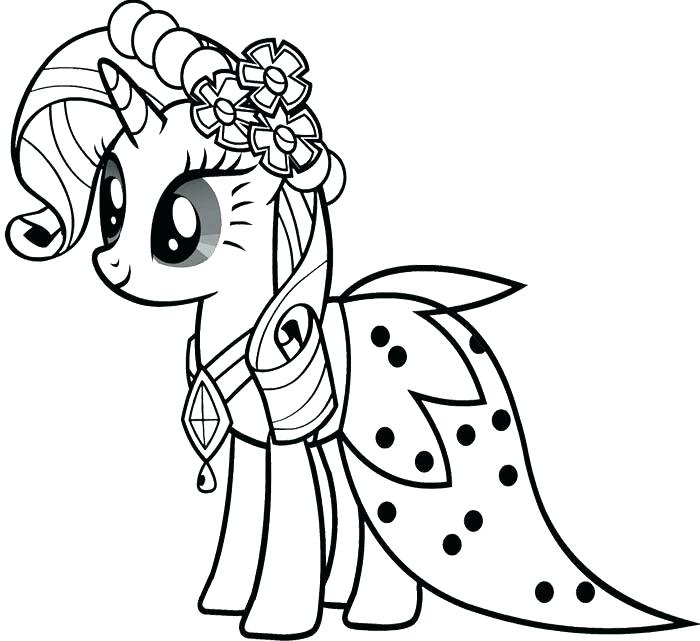 700x641 My Little Pony Christmas Coloring Pages Beautiful Queen Chrysalis