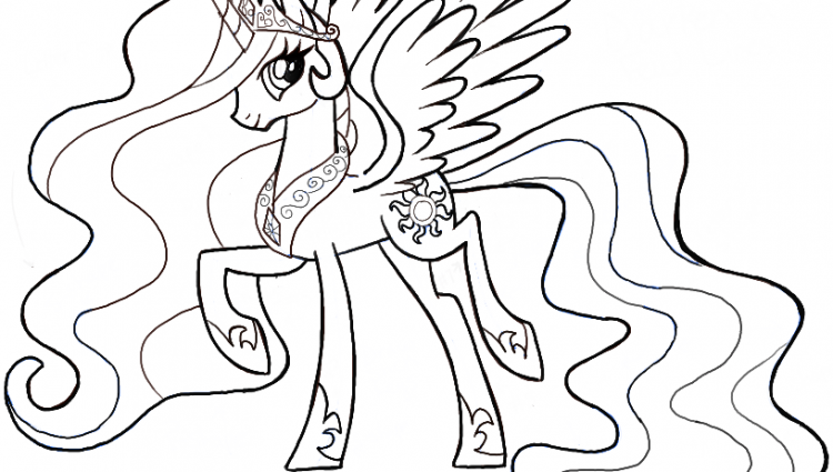 750x425 Ponies Drawing Drawn My Little Pony Pencil And In Color Drawn My
