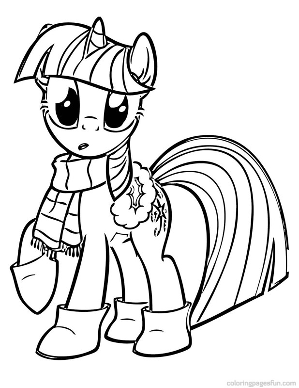 My Little Pony Twilight Sparkle Drawing at GetDrawings.com | Free ...