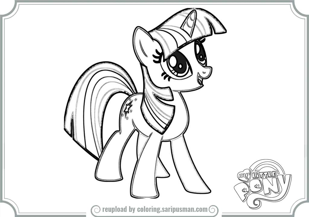 My Little Pony Twilight Sparkle Drawing at GetDrawings