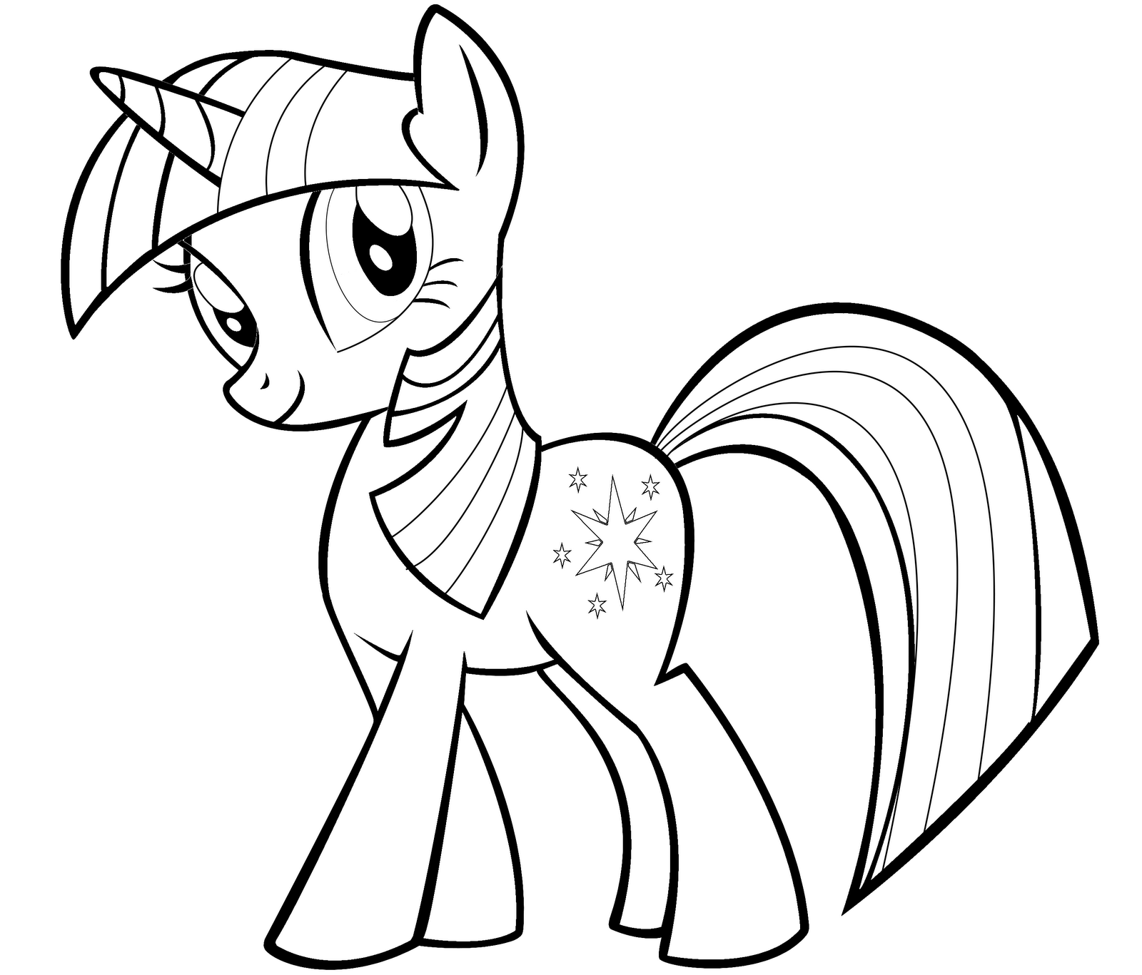 My Little Pony Twilight Sparkle Drawing At Getdrawings Com Free