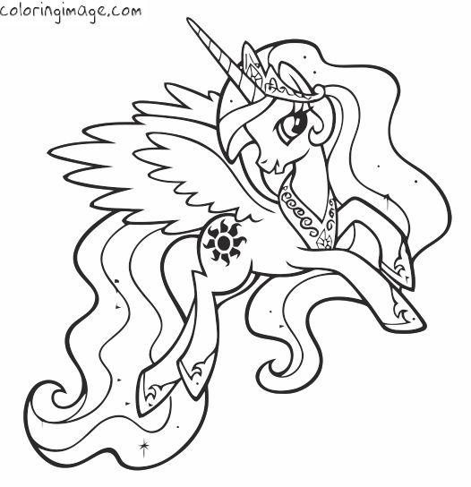 My Little Pony Unicorn Drawing