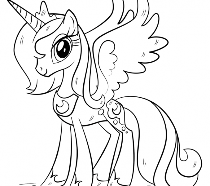 This is a photo of Dynamite unicorn coloring pages my little pony