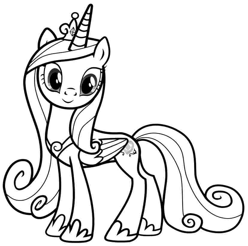 This is a photo of Rare unicorn coloring pages my little pony