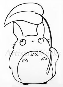 218x300 My Neighbor Totoro Chu Totoro Decal Sticker Leaf Manga Anime Car
