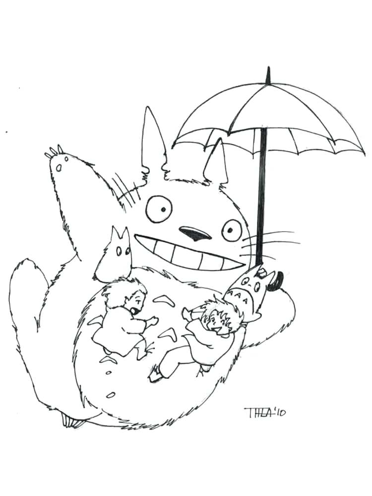 My Neighbor Totoro Drawing at GetDrawings.com | Free for personal ...