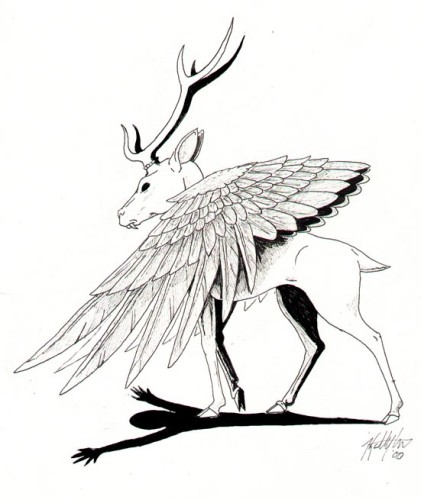 Mythical Creature Drawing