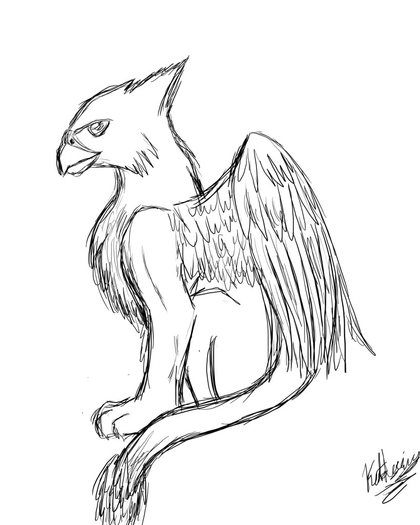 819x1024 Mythical Creatures Drawings Drawings Of Mythical Creatures