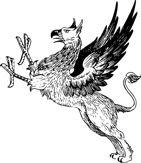 552x640 Mythical Creature, Griffin, Legendary Creature, Griffon