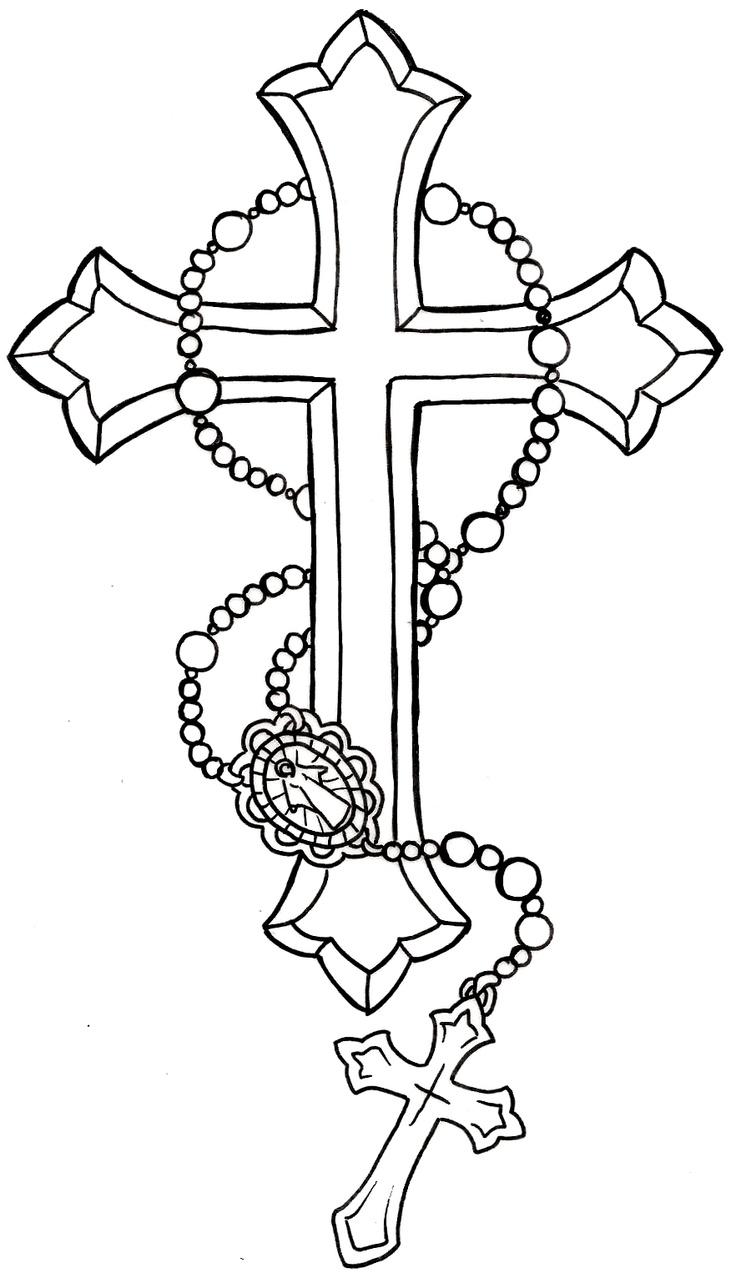 Nail Cross Drawing at GetDrawings.com | Free for personal use Nail ...