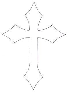 236x319 Printable Wood Cross Patterns