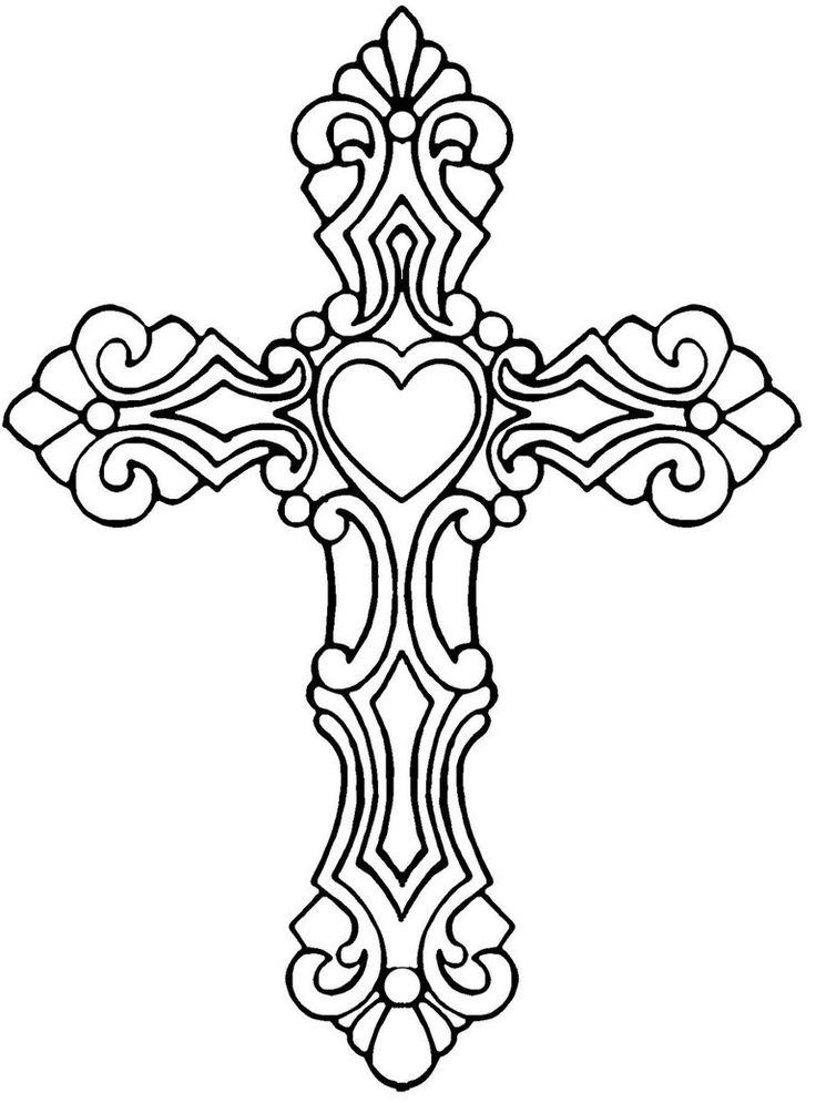 736x995 Black And White Cross Tattoo Collection