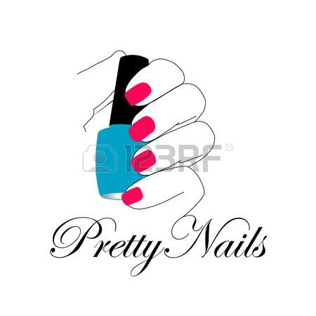 450x450 6,122 Nail Salon Stock Vector Illustration And Royalty Free Nail
