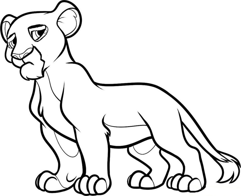 991x806 How To Draw Nala From The Lion King Step 9 1 0 By Love Le Roi Lion