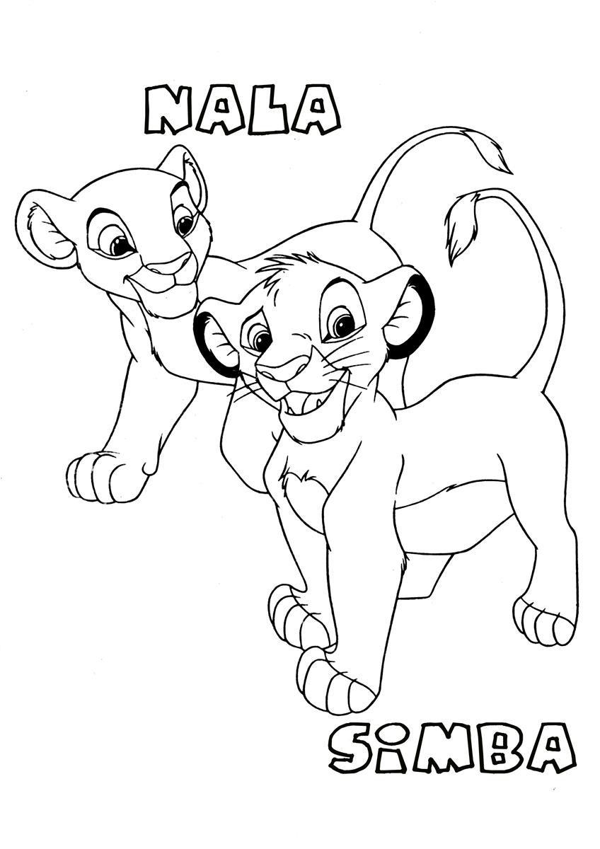 848x1200 Lion Coloring Pages Printable King General 2 Free Kovu High